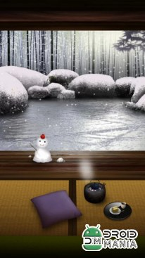 Скриншот Zen Garden Live Wallpaper (Winter) №3