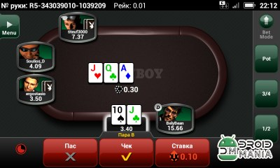 Скриншот PlayBoy Poker Android №3