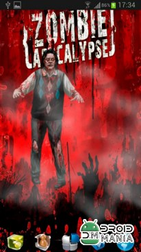 Скриншот The Walking Zombie LWP №3