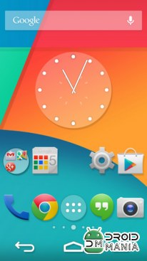 Скриншот Ultimate KitKat Experience Launcher Theme №4