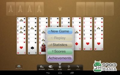 Скриншот FreeCell Solitaire №4
