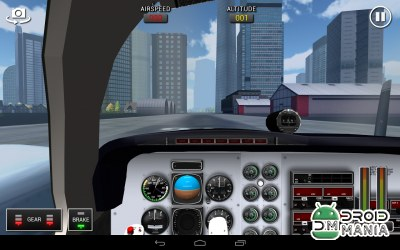 Скриншот Flight Sim BeachCraft City №3