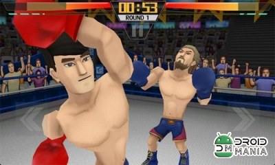 Скриншот Pro 3D Boxing / Super Boxing: City Fighter №3