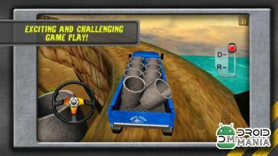 Скриншот HILL CLIMB TRANSPORT 3D №3