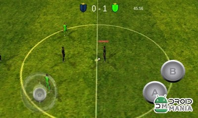 Скриншот Football Mobile World Cup 3D №3