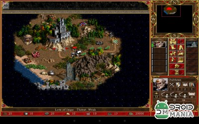 Скриншот Heroes of Might and Magic 3 / VCMI for Android №3