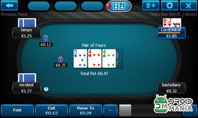 Скриншот WantedPlay Poker Android №3