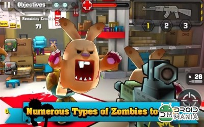 Скриншот Action of Mayday: Zombie World №3