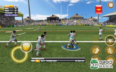 Скриншот Rugby League Live 2: Gold №3