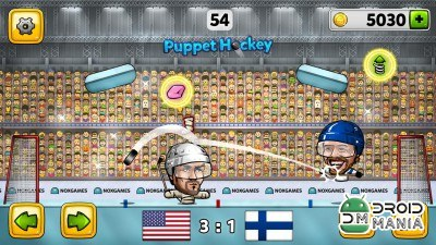 Скриншот Puppet Ice Hockey: 2014 №3