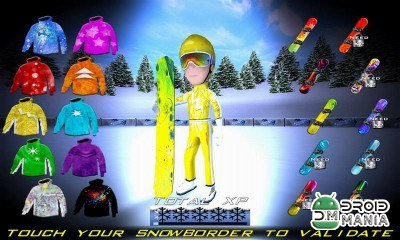 Скриншот Snowboard Racing Ultimate №3