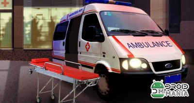 Скриншот Ambulance Parking 3D Extended №1