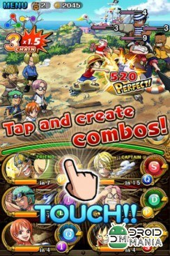 Скриншот ONE PIECE TREASURE CRUISE №3