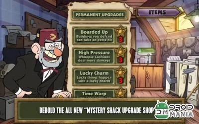 Скриншот Gravity Falls: Mystery Shack Attack №3