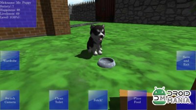 Скриншот Cute Pocket Puppy 3D №3