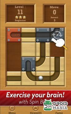 Скриншот Roll the Ball: slide puzzle №3