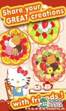 Скриншот Hello Kitty's Pie Shop №4