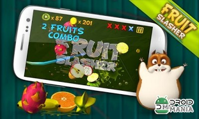 Скриншот Fruit Slasher 3D №4