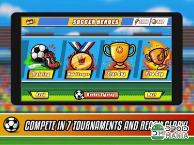 Скриншот Soccer Heroes - Road to Brazil №3