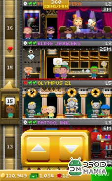 Скриншот Tiny Tower Vegas №3