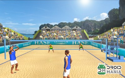 Скриншот Beach Volleyball World Cup №3