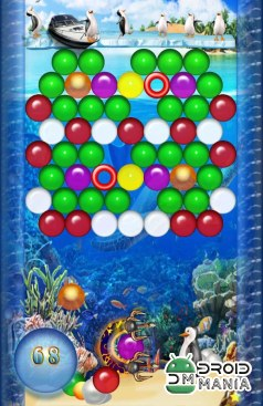 Скриншот Bubble Shooter HD №3