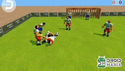 Скриншот Goofball Goals Soccer Game 3D №3