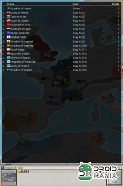 Скриншот Age of Conquest: Europe №3