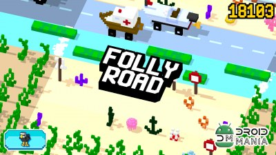 Скриншот Folly Road - Crossy №3