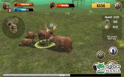 Скриншот Wild Bear Simulator 3D №3