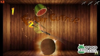 Скриншот Fruit Cutter №3