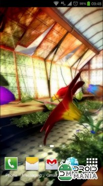 Скриншот Magic Greenhouse 3D Pro LWP №3