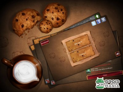 Скриншот Tap the Cookie! №1