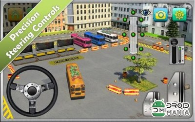 Скриншот Bus Parking Simulator 3D №4