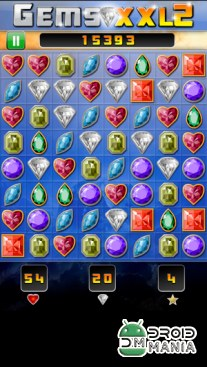 Скриншот Gems XXL 2: Collect Jewels №4