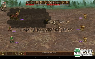 Скриншот Heroes of Might and Magic 3 / VCMI for Android №4