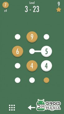 Скриншот Noda - Dots and Number Puzzle №4