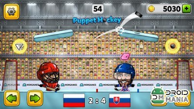 Скриншот Puppet Ice Hockey: 2014 №4