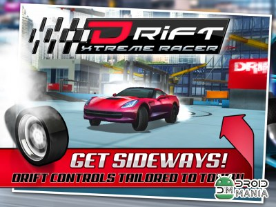 Скриншот 3D Drift Xtreme Race Simulator №4
