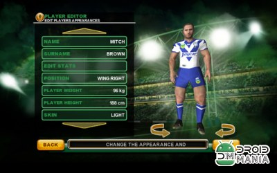 Скриншот Rugby League Live 2: Gold №4