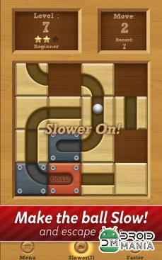 Скриншот Roll the Ball: slide puzzle №4