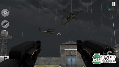 Скриншот Gunship Helicopter War 3D №4
