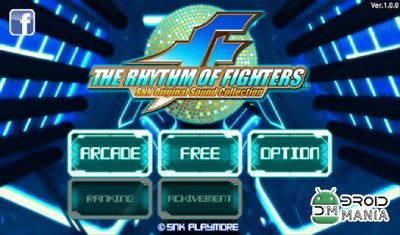 Скриншот THE RHYTHM OF FIGHTERS №1