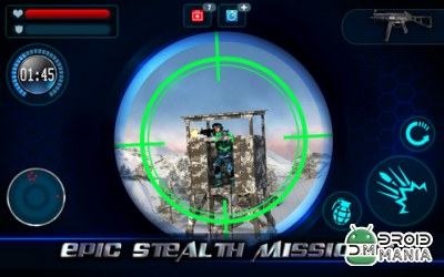 Скриншот Mountain Sniper Killer 3D FPS №4