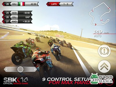 Скриншот SBK14 Official Mobile Game №4