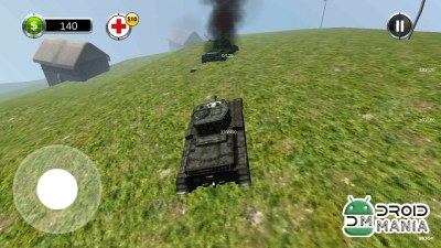 Скриншот Tank Battle 3D: World War II №4