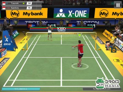 Скриншот Badminton: Jump Smash №4