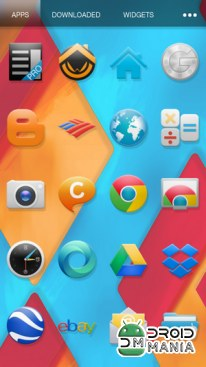 Скриншот Ultimate KitKat Experience Launcher Theme №2
