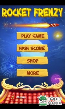 Скриншот Rocket Frenzy HD №1