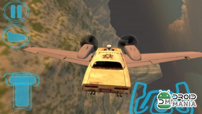 Скриншот Flying Car Free: Sheriff Craft №4